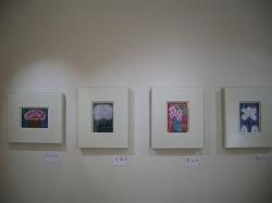 鈴木悦郎先生「2011年絵展楽」会場